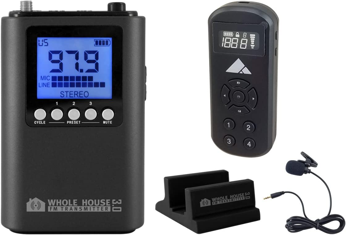 Drive-in Theater FM Transmitter by Whole House FM