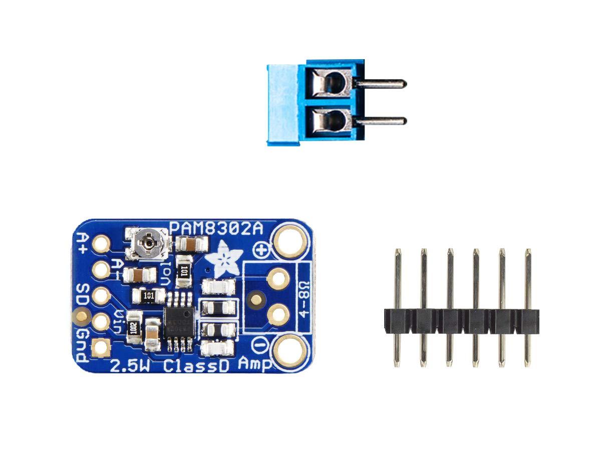 Audio Ic Development Tools Adafruit Mono 25w Class D Door Phone Circuit Using Lm386 Amplifier Pam8302 1 Piece Computers Accessories