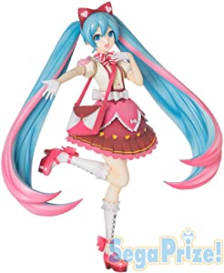 Sega Project Hatsune Miku Series Super Premium Action Figure Ribbon Heart, 8.6""