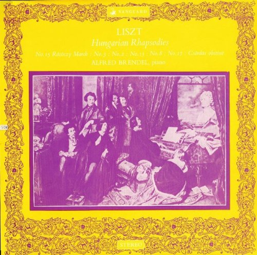 Price comparison product image Paprika! 4 Great Hungarian Rhapsodies By Franz Liszt (Hungarian Rhapsody No. 1 in F; No. 2 in C; No. 6 in D; & No. 12 in D) / Leopold Ludwig Conducting the Bavarian Radio Symphony [Vinyl LP] [Stereo]