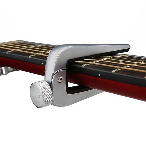 afuaim Universal guitarra cejilla para guitarra eléctrica clásica acústica (, ukelele Capo