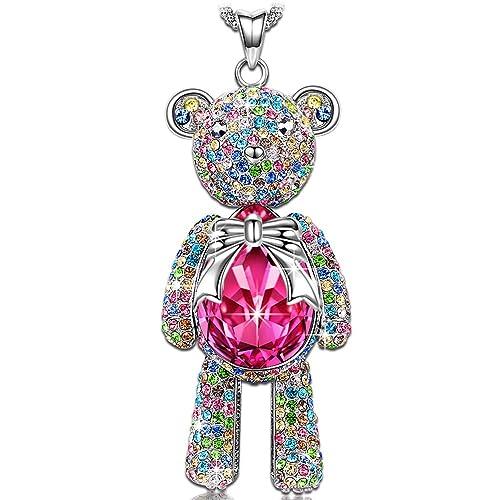 J NINA - Colgante con diseño de caracol turbo de cristal de Swarovski, joyería ideal para hija: Amazon.es: Joyería