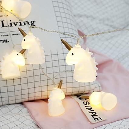 Amazon.com : Graduation Gift Led String Lights Unicorn Shape Battery on