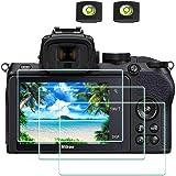 Z50 skärmskydd för Nikon Z 50 Z50 spegelfri digitalkamera och het skoskydd, ULBTER 0,3 mm 9H hårdhet härdat glassparare…