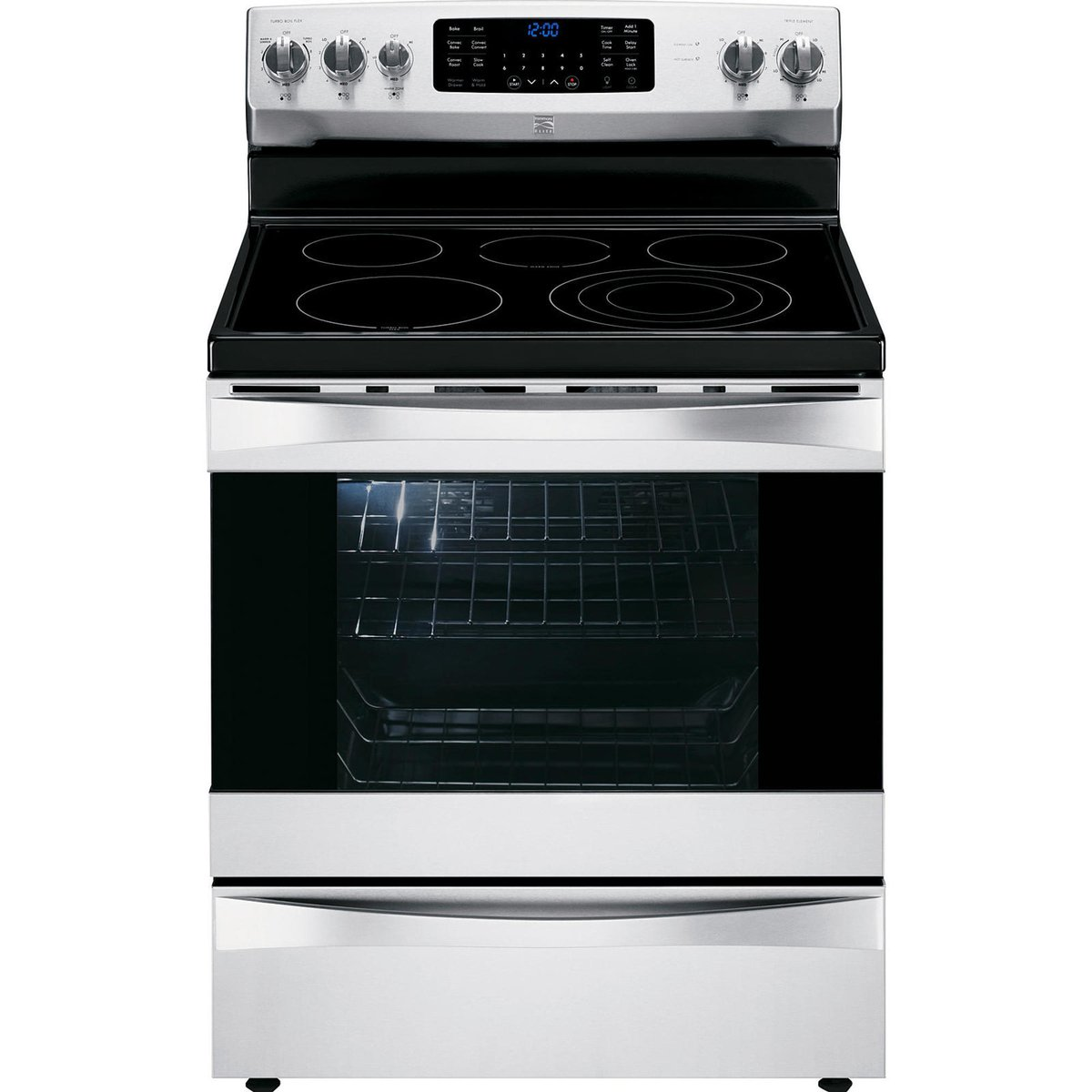 Kenmore Elite 95053 6.1 cu. ft. Electric Range w/ Dual True Convection in Stainless Steel, includes delivery and hookup