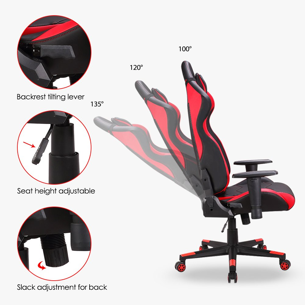 Bureau Dossier Gaming Avec Wm Inclinable De Heart Chaise Racing Assise LargeGamerGamingSiège Intimate Haut wX80nOPk