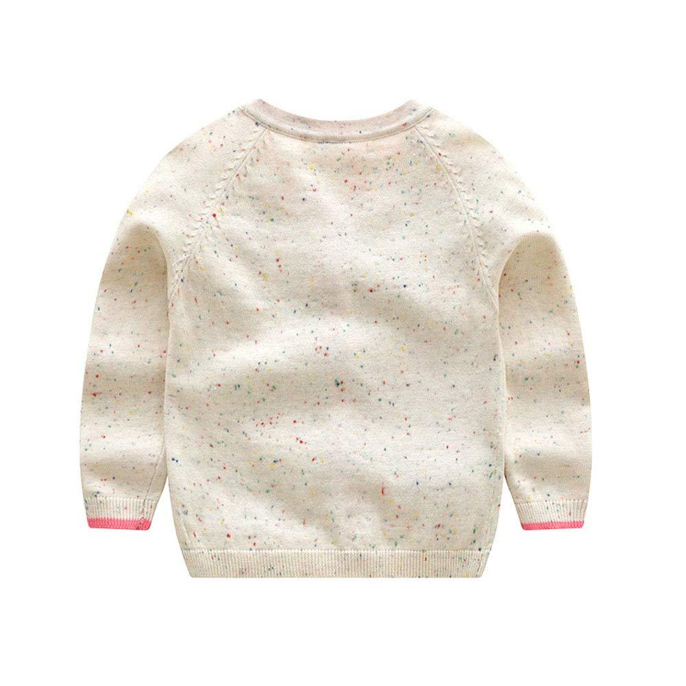 f773f0b23 Amazon.com  JGJSTAR Baby Toddler Girls Dog Pattern Knit Cardigan ...