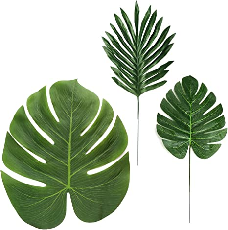 Amazon Com Ljdj Tropical Leaves Palm 32 Pcs 3 Kinds Artificial Silk Fabric Monstera Decoration Leaf Baby Shower Hawaiian Luau Safari Jungle Beach Pink Flamingo Party Supplies Table Decor Home Kitchen All tropical leaves artwork ships choose your favorite tropical leaves designs and purchase them as wall art, home decor, phone. ljdj tropical leaves palm 32 pcs 3 kinds artificial silk fabric monstera decoration leaf baby shower hawaiian luau safari jungle beach pink