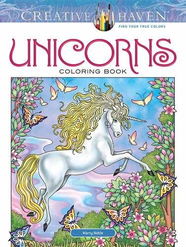 Creative Haven Unicorns Coloring Book (Adult Coloring)