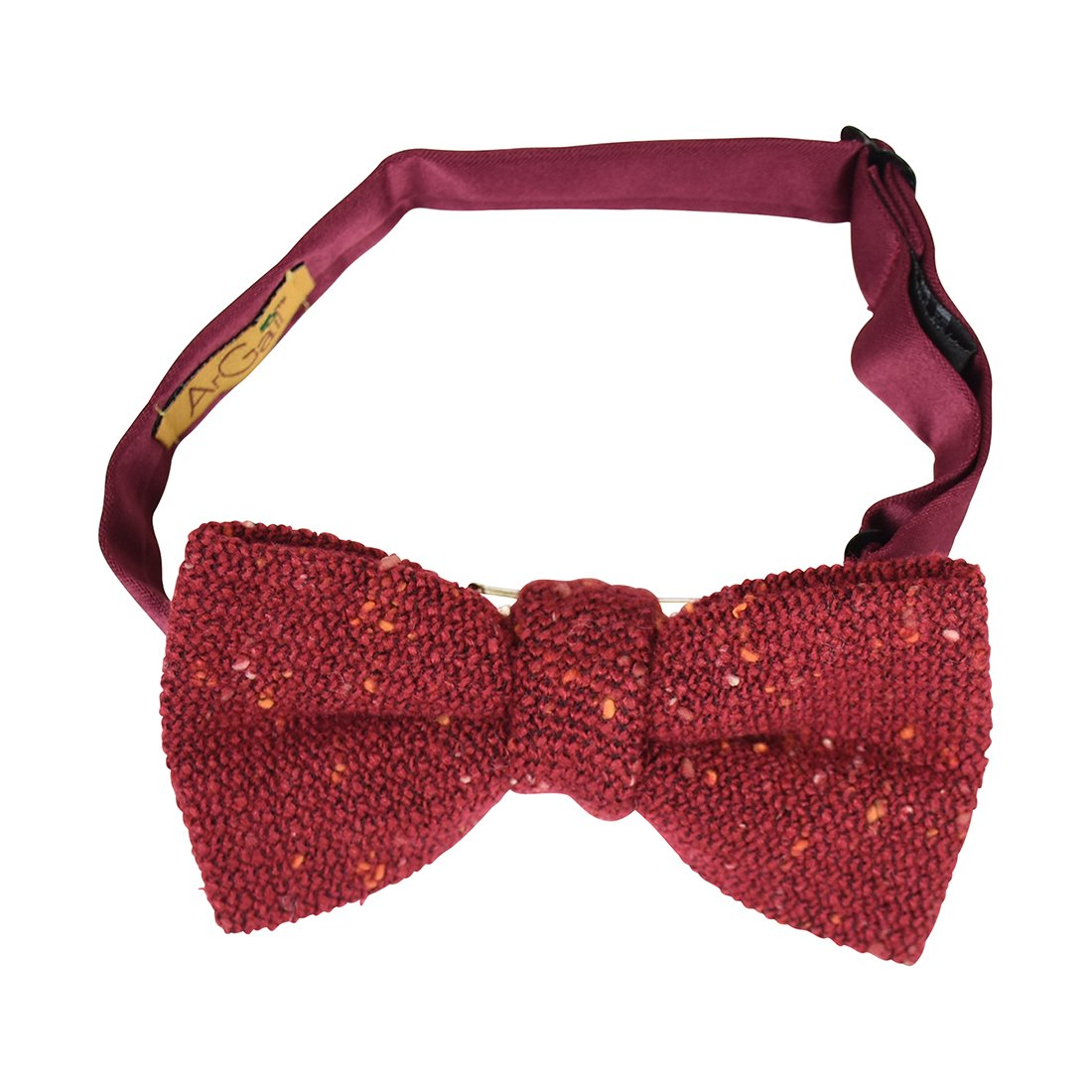 Speckled Tweed Retro Bow Tie for Boys - Black DaCee Designs Accessories AGBT0012BK