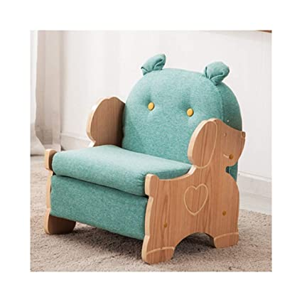Amazon.com: JUN Lazy Sofa Childrens Single Fabric Sofa Home ...