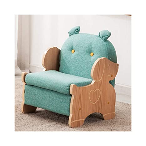 Amazon.com: LYQZ Lazy Sofa Childrens Single Fabric Sofa ...