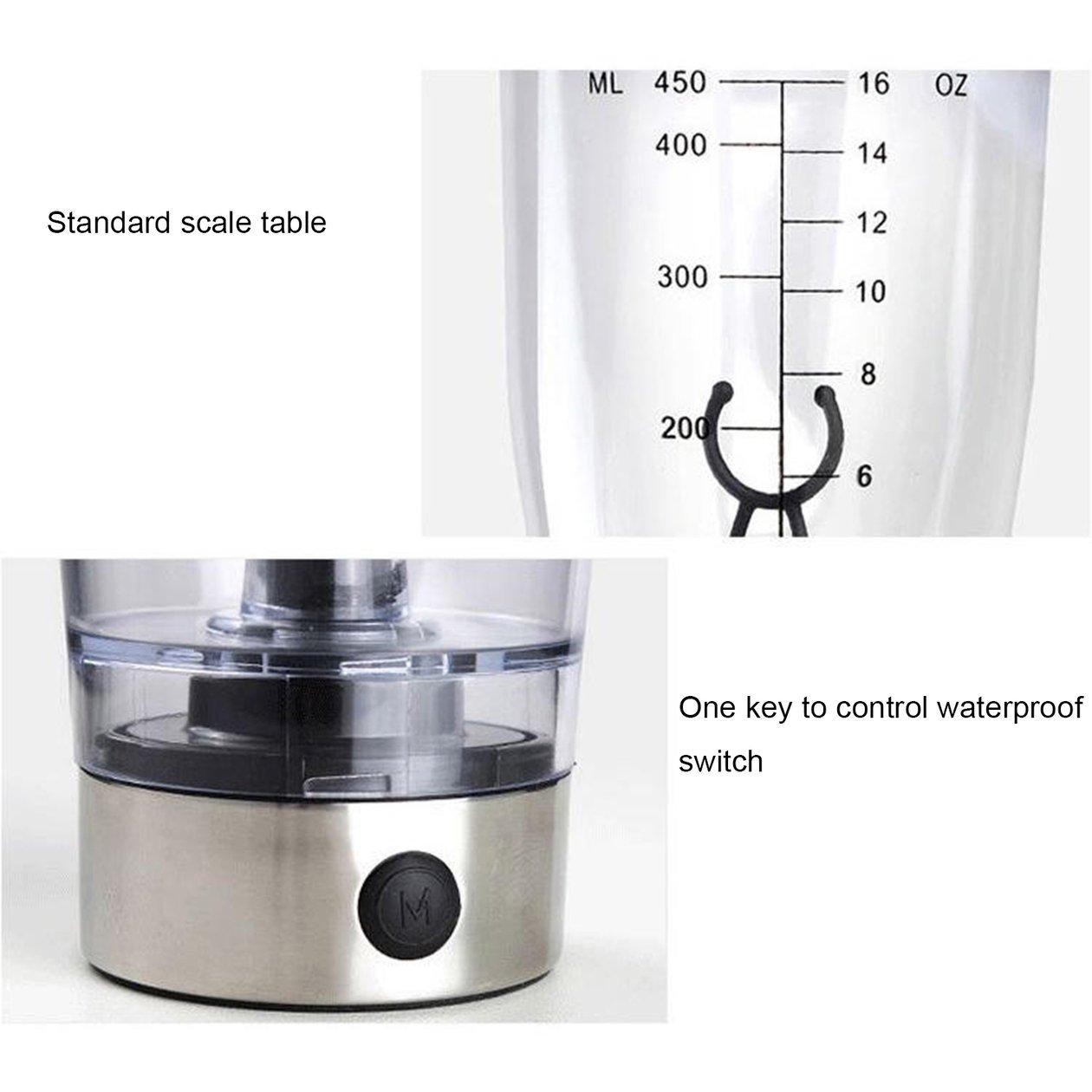 La proteína de la botella de la coctelera 450ml 16Oz, proteínas ...
