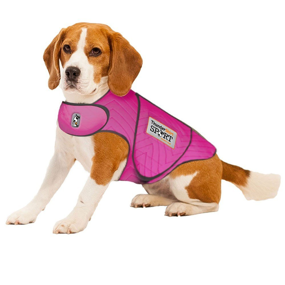 ThunderShirt Sport Dog Anxiety Jacket Fuchsia Large (4-6 lb)