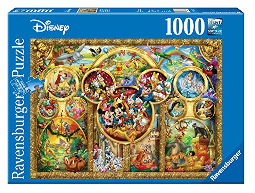 Ravensburger Disney Best Themes Jigsaw Puzzle (1000 Piece) (Disney Ravensburger Puzzle)