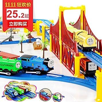 Amazon.com: Música Thomas Tren Track Rail Set de juguete ...