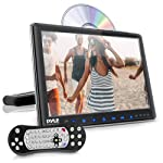 Universal Car Headrest Mount Monitor - 9.4 Inch Vehicle Multimedia CD DVD Player - Smart Audio Video Entertainment System...