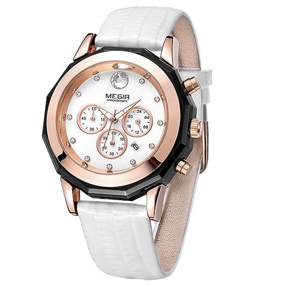 23240ceb5e62 Reloj - Megir - Para - MG-2042M  Amazon.es  Relojes
