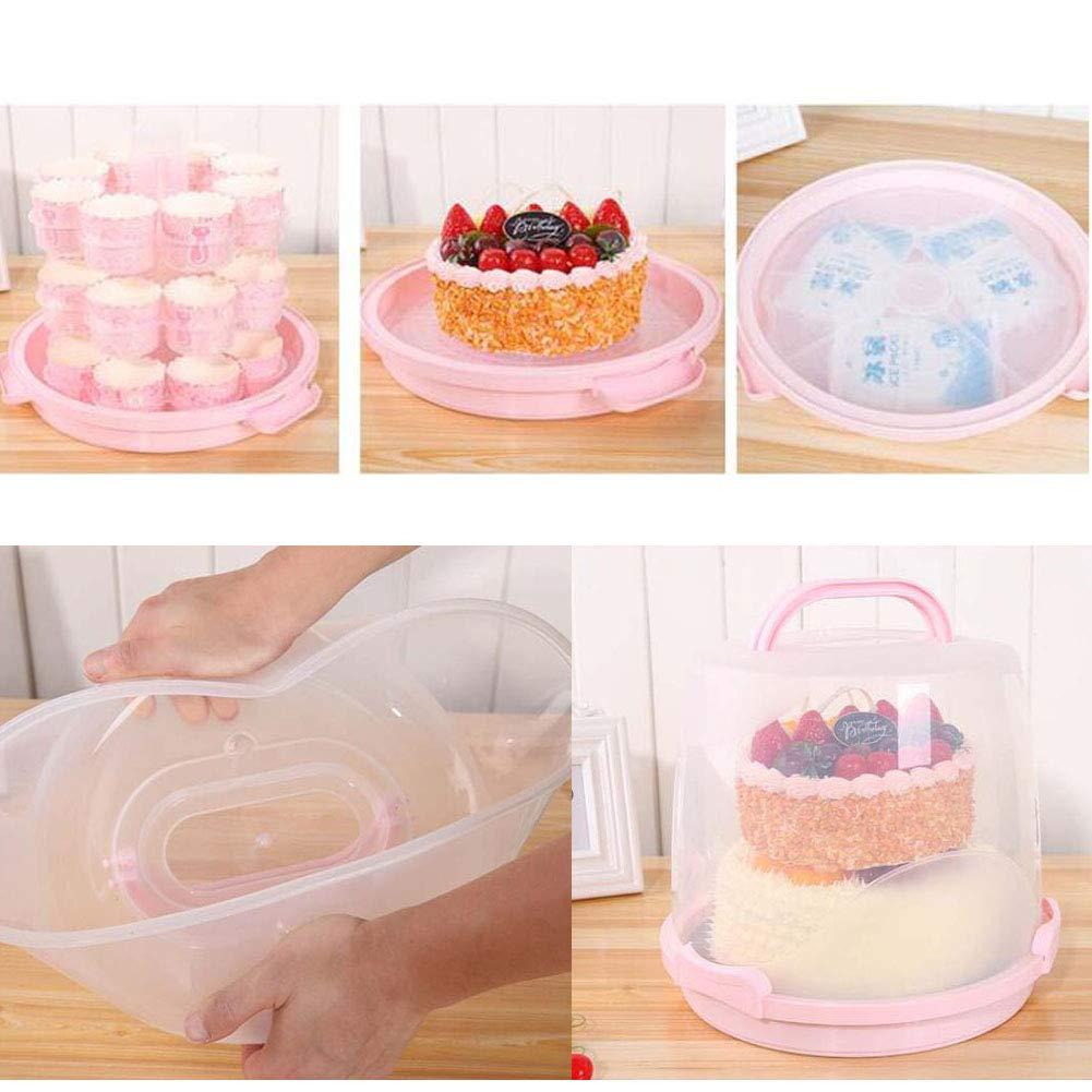 A8 Black Temptation Kuchen-Tr/ägernahrungsmittelspeicher Kuchen Keeper Tortenschachtel f/ür Partei//Hochzeit