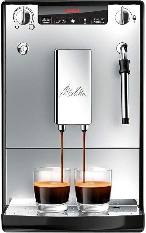 Melitta Caffeo Solo&Milk E953-102 - Cafetera Automática, Espumador ...
