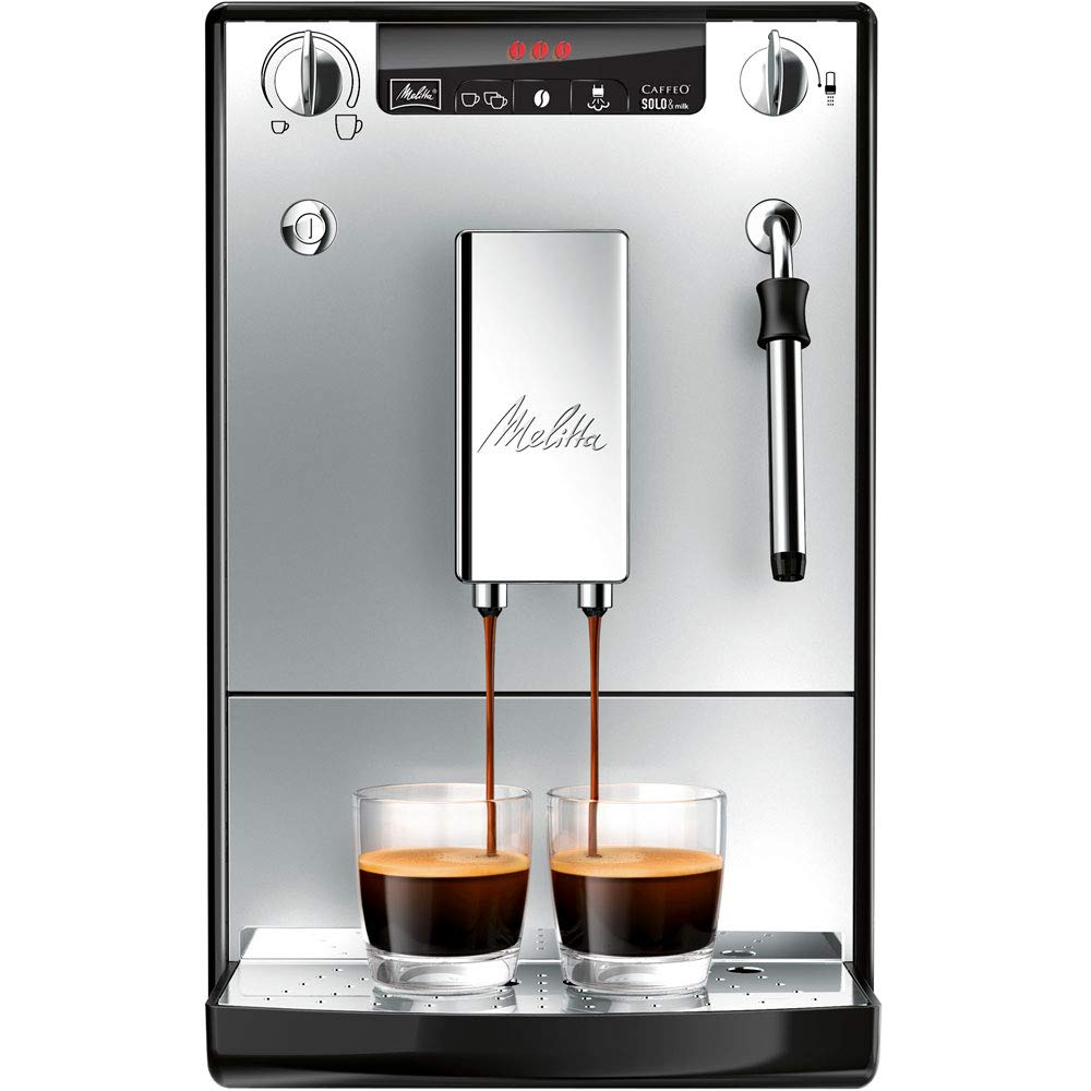 Melitta Caffeo Solo & Milk Bean to Cup Espresso/ Cappuccino Coffee Machine
