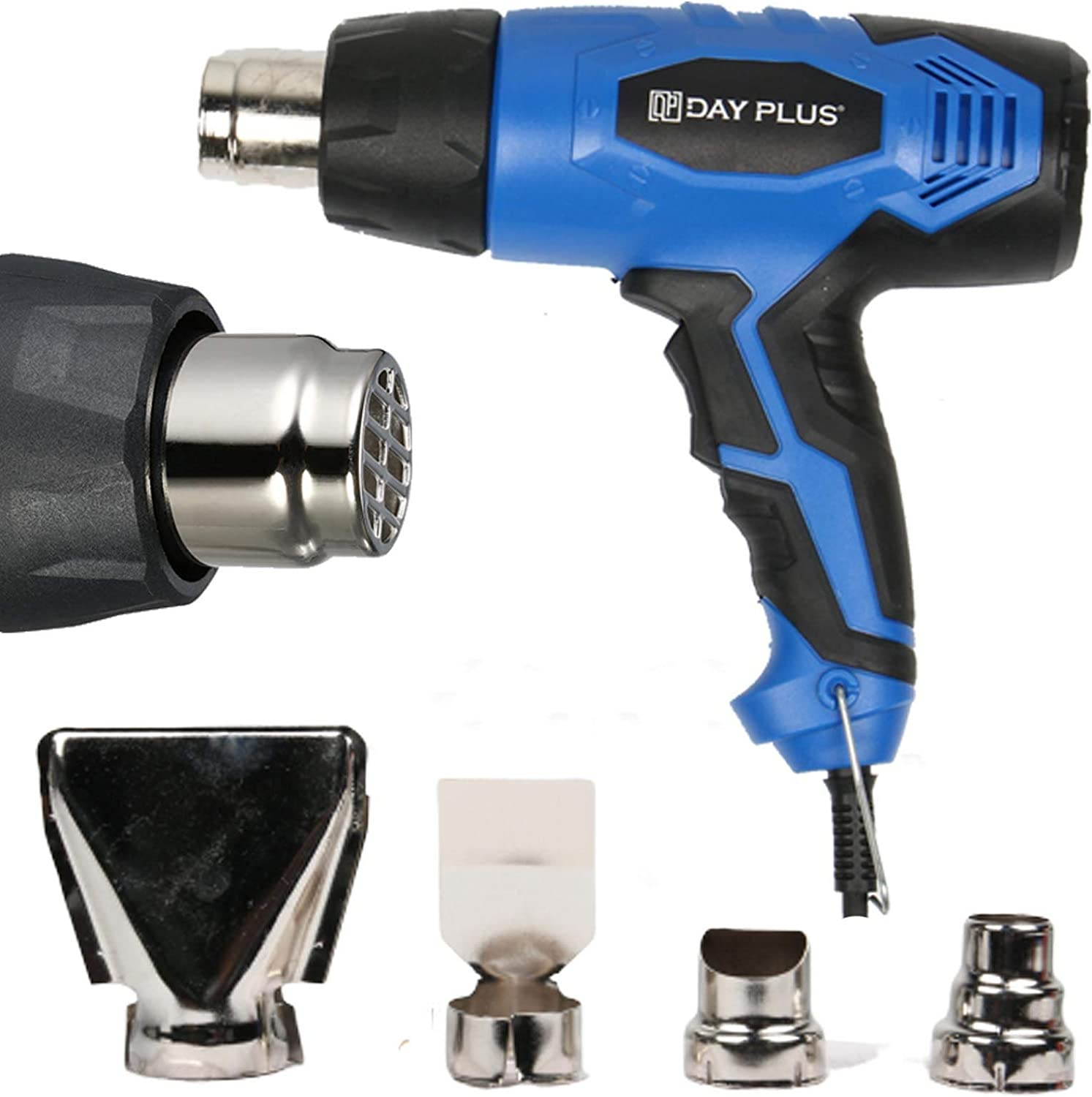 1500W Hot Air Heat Gun With 4 Nozzles Paint Stripper Stripping Shrink Power Tool