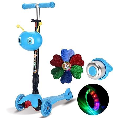 Patinetes Niños Scooter Flash Wheel Yo Car 4-5-7-13 años de ...