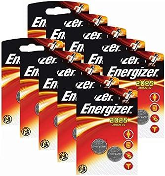 20 X Energizer Cr2025 Coin Battery Batteries Lithium 3v For Watches Torches Keys Baumarkt