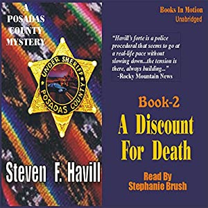 A Discount for Death Audiobook