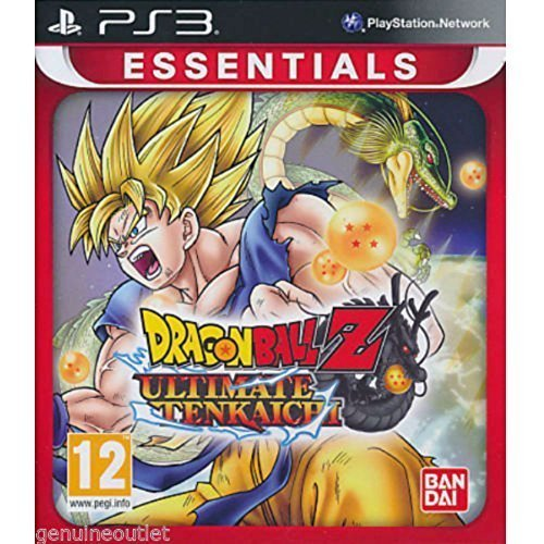Dragon Ball Z Ultimate Tenkaichi PS3 Dragonball Brand New Sealed by unbranded