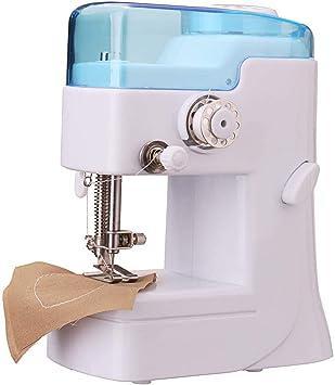 LSHUNYDE Máquina de coser portátil Máquina de coser, Máquina de coser overlock eléctrica, Kleine Nähmaschinen ...