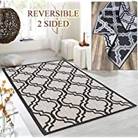 Maxy Home Dejavu Reversible Indoor/Outdoor 7 ft. 10 in. x 10 ft. Area Rug