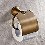 Leyden Antique Bathroom Accessories Brass Toilet Roller Paper Holder Lavatory Accessories Wall maounted