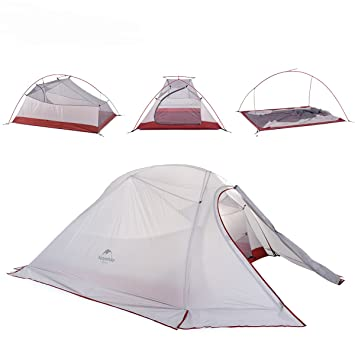Naturehike Cloud-Up Ultra-light 3-Person Backpacking Tent (Gray with Snow  sc 1 st  Amazon.com & Amazon.com : Naturehike Cloud-Up Ultra-light 3-Person Backpacking ...