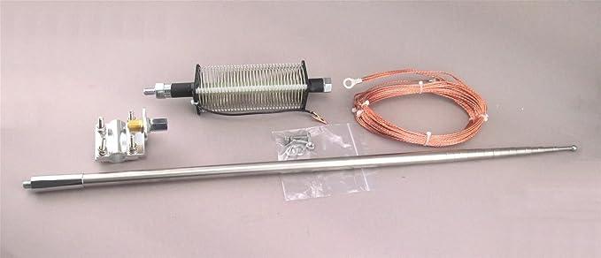 MFJ-2286 Antena Vertical portátil 7 – 55 MHz 1 KW de 5,8 metros de alto