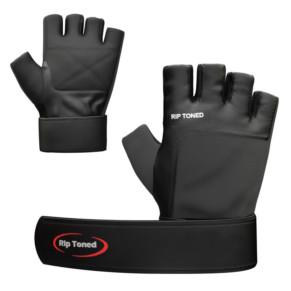Rip Toned Fitness - Weightlifting Gloves - Maximize Your Gains & Protect Your Hands by Rip Toned