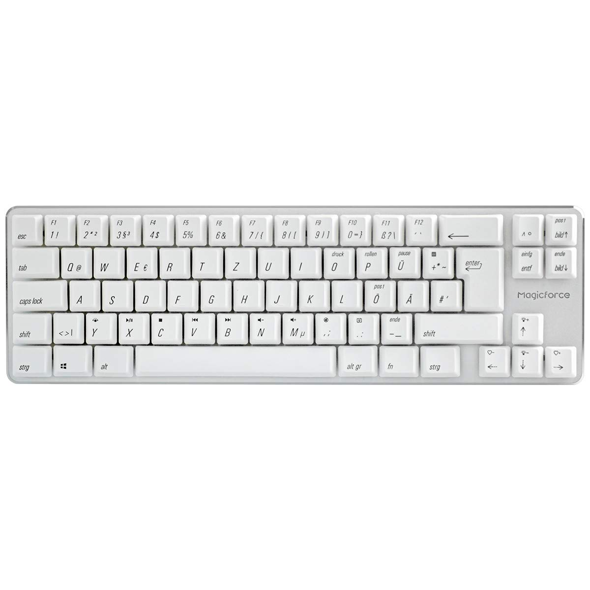 43e03b2ff86 Qisan Wired Mechanical Gaming Keyboard PBT Keycaps 69: Amazon.co.uk:  Electronics
