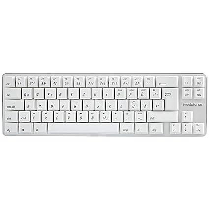 c0d907651eb Qisan Wired Mechanical Gaming Keyboard PBT Keycaps Blue Switch Mini 69 Keys (60%)