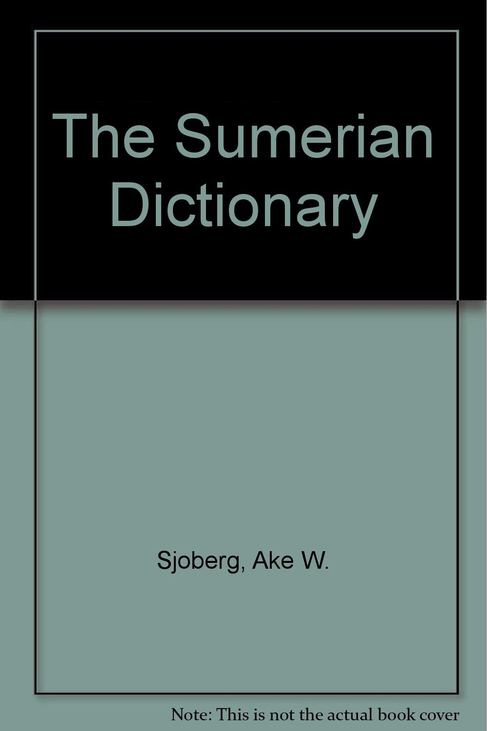 The Sumerian Dictionary (Volume A, Part II)
