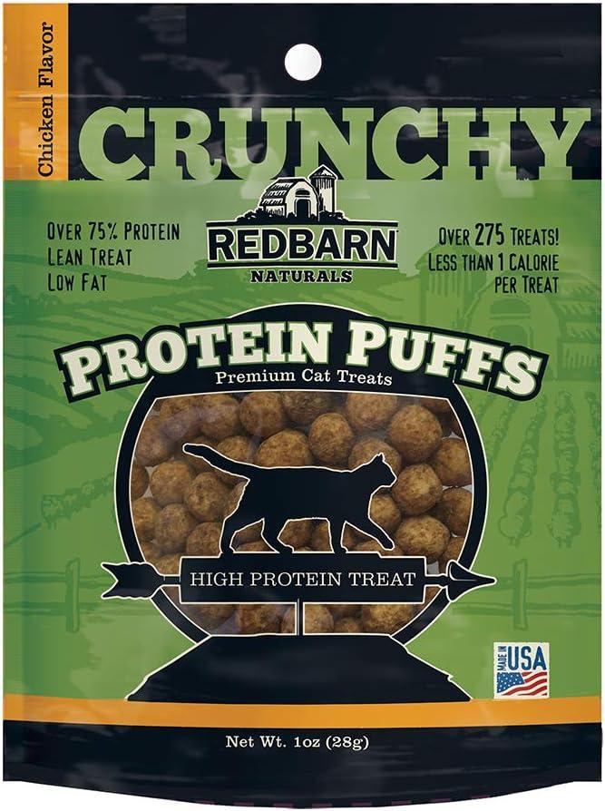 Redbarn Cat Protein Puffs Chicken (12-Count)