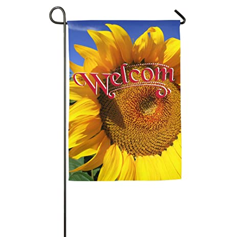 Summer Sunflower Garden Flag Colorful Mulitcolor Bright Cute USA Produced Garden  Flag/Protest Flag