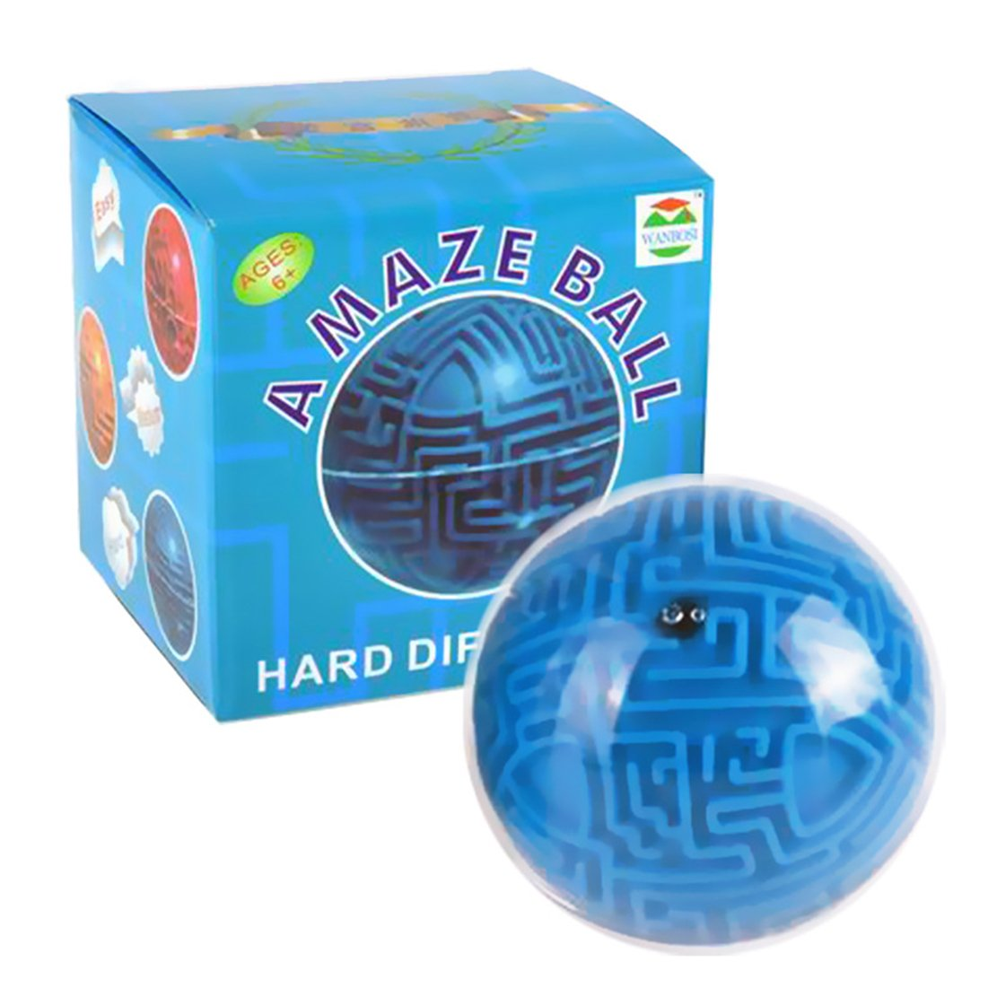 ブランド品専門の nextnol 3d 3d nextnol Magic迷路パズルボール教育バランスFidgetおもちゃパズルゲーム子供大人ギフトブルー B077JL47ZV B077JL47ZV, 直輸入SHOP e-コレクション:8ffb8963 --- clubavenue.eu