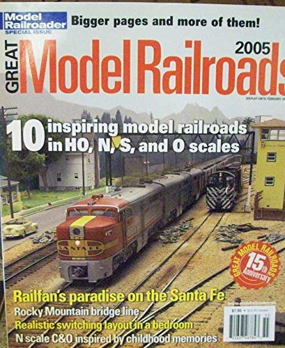 - Model Railroads : Cajon Pass in HO Scale; S scale NYC Valley district; Utah Colorado Western in HO scale; The Atlantic Great Eastern HO Scale Layout; A 3 3/4 inch scale live steam train;