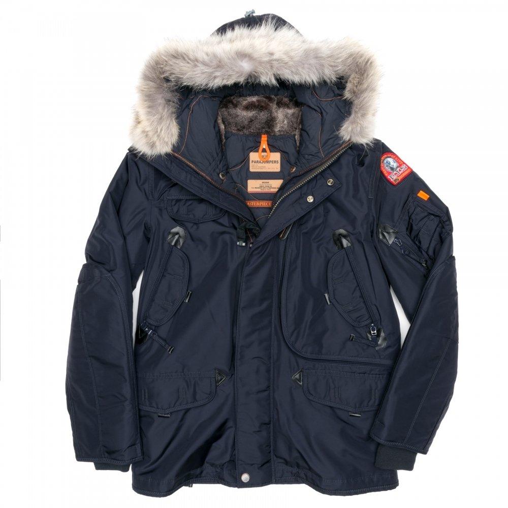 online retailer 908fb 61650 switzerland parajumpers daunenjacke right hand blau kit ...