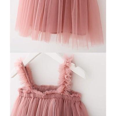BGFKS Layered Tulle Tutu Dress for Toddler Girls,Baby Girl Rainbow Tutu Princess Skirt Set with Flower Headband.
