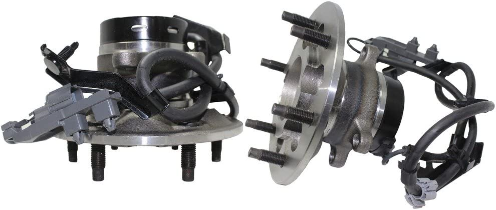 2 Detroit Axle- Read 2WD Models Only Both New Front Driver and Passenger Side Complete Wheel Hub and Bearing Assembly Colorado Canyon