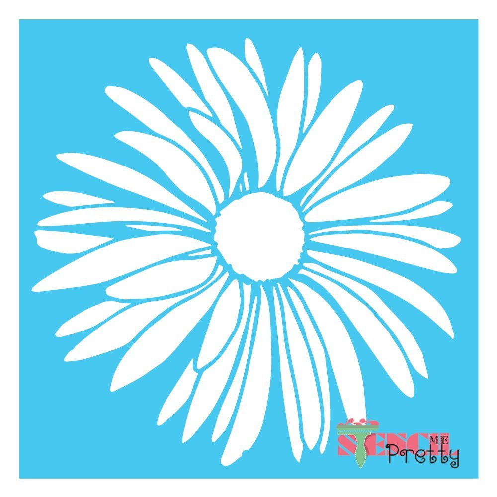 "Summer Flower Stencil DIY Sunflower Crafting -M (14"" x"