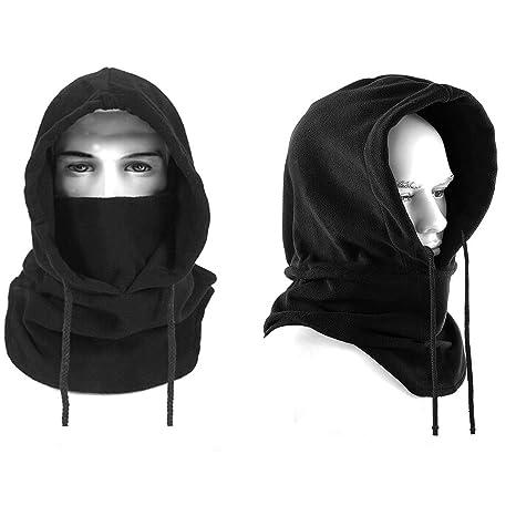 8d325a05d0bb Balaclava Chapeau, Mincome Cagoule en polaire Ski Masque Multifonction pour  Temps Froid Ski Outdoor Moto