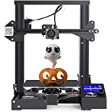 Creality Ender 3 3D Printer by MKK Fully Open Source with Resume Printing,Upgraded Build Surface Plate Mat, UL Certified…