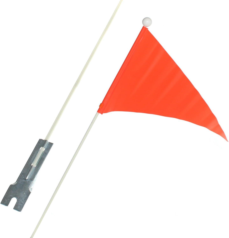 1 bicicleta infantil Seguridad banderín Bandera banderín banderita color naranja bicicleta Seguridad Motivo Bandera Winker nuevo de Otto Harvest: Amazon.es: Deportes y aire libre